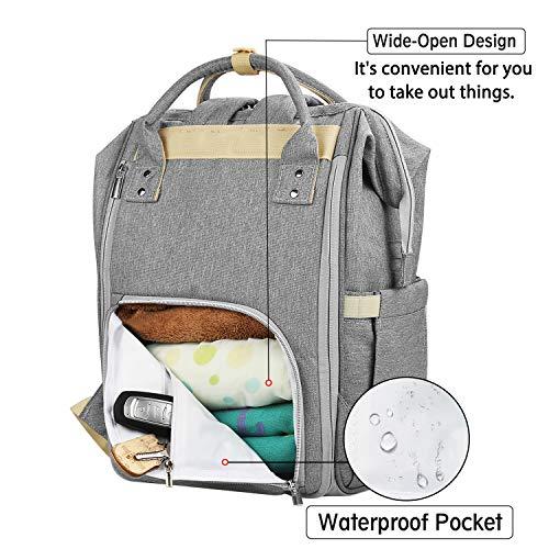 0cb4d8003deda Diaper Bags – Diaper Bag Backpack, Sensyne Multi-Function Waterproof  Maternity Baby Nursing Nappy Back Pack for Boy/Girl on Travel, Large &  Stylish ...
